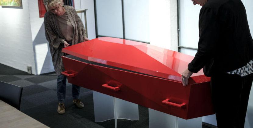 Boudigaard Begravelse: Døden kan sagtens ses i farver