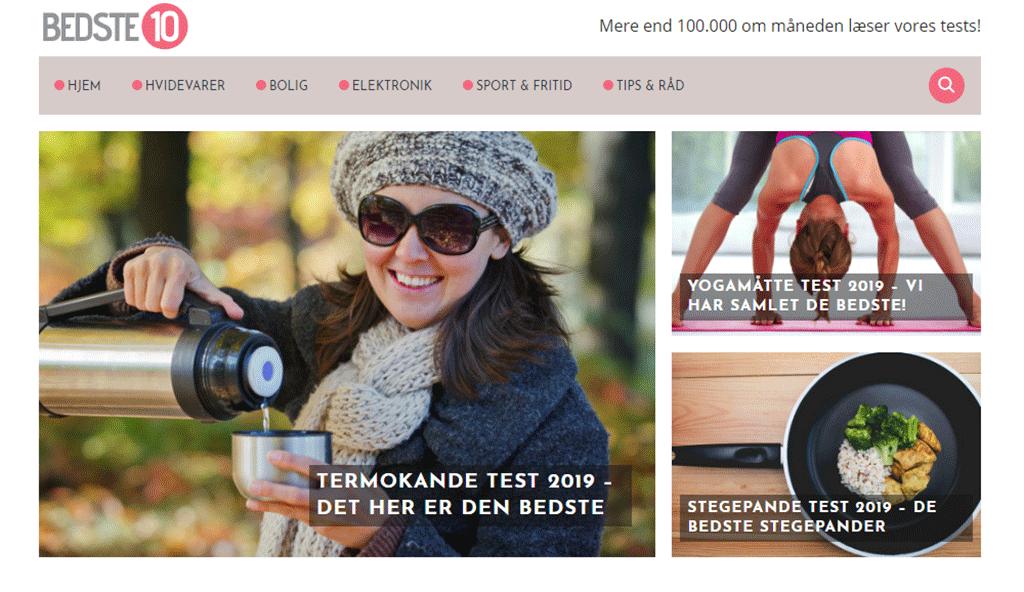 bedste10.dk, Bizz Up, service, produkter