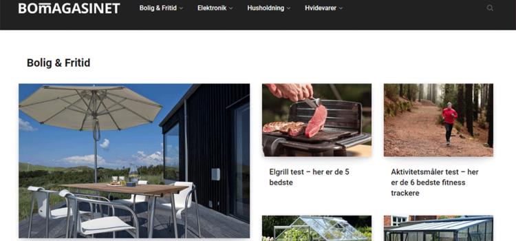 Bomagasinet kåret til Danmarks mest foretrukne forbruger- og testmagasin