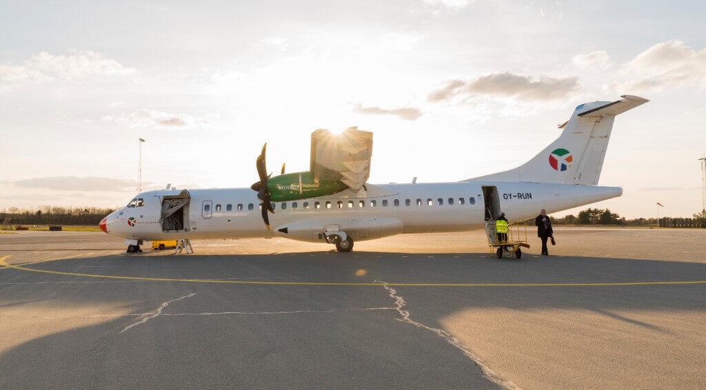 DAT, Bornholms Lufthavn, Bizz Up Forår 2019