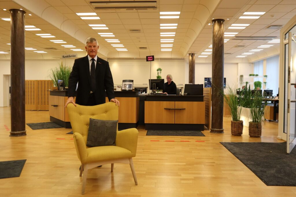 Salling Bank, Erhverv