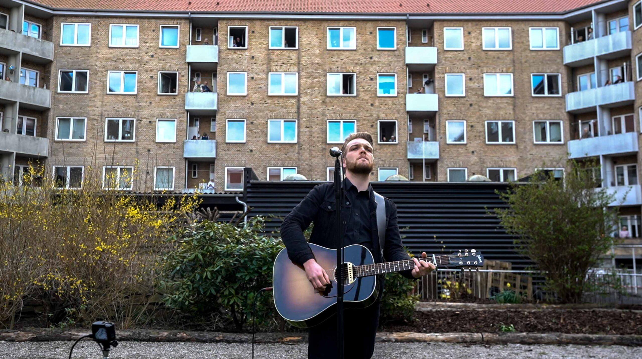 Krise styrker kreativiteten: Musikhuset Aarhus bringer musikken ud