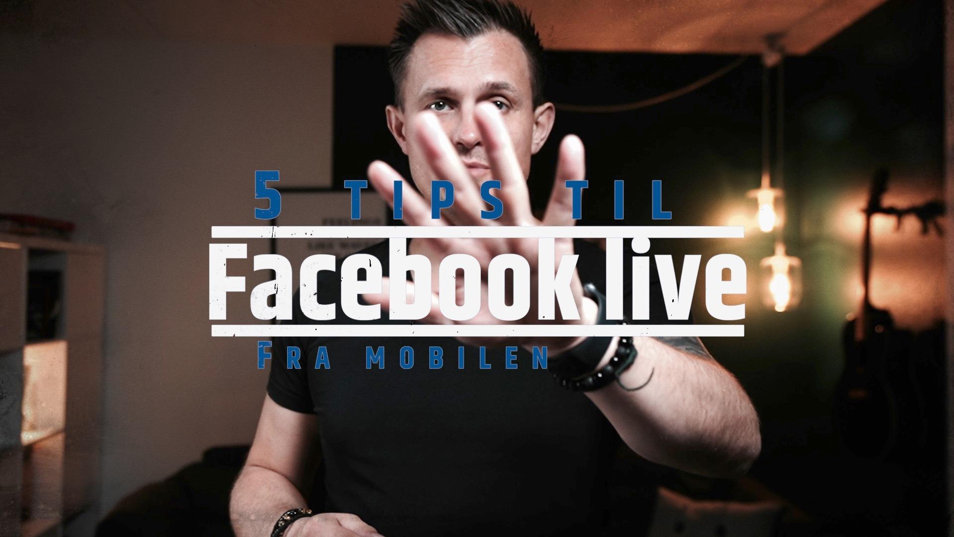 Facebook Live med Jimmi Hjort Jensen