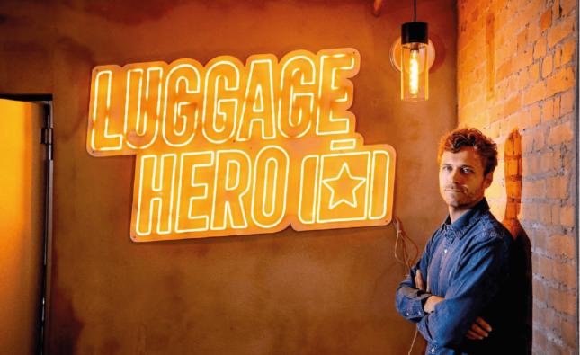 LuggageHero, Bizz Up, iværksætter