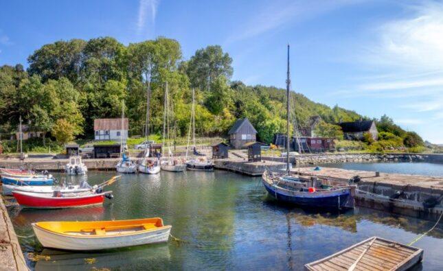 Bornholm, DAT, Helligpeder bådehavn, Bizzup.dk, Bizz Up Forår 2020