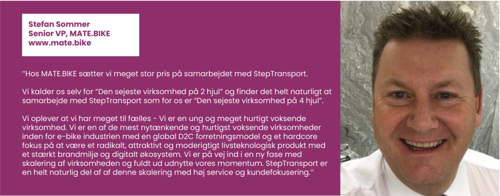 Step Transport, Bizz Up Sommer 2020, bizzup.dk