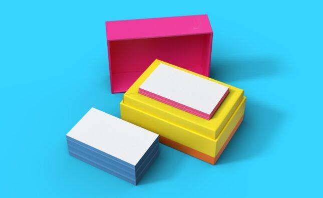 Skyline card, visitkort, branding, bizzup.dk, Bizz Up