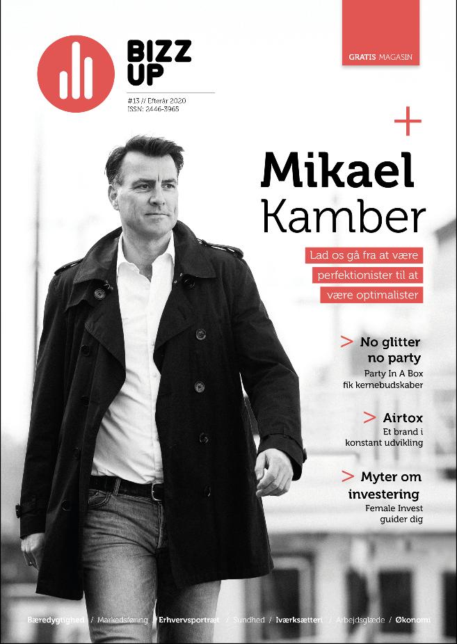 Bizz Up Efterår 2020, Mikael Kamber, Bizzup.dk, Bizz Up