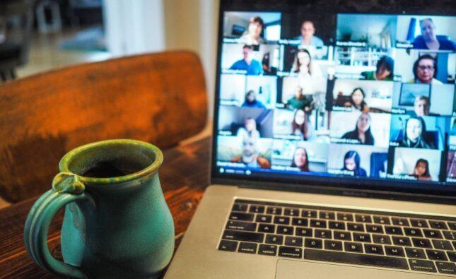 Onlinemøde, online møder, bizz up