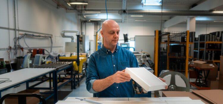 Luftfilterproducent i grøn omstilling: sparer 30 tons plastik i 2021