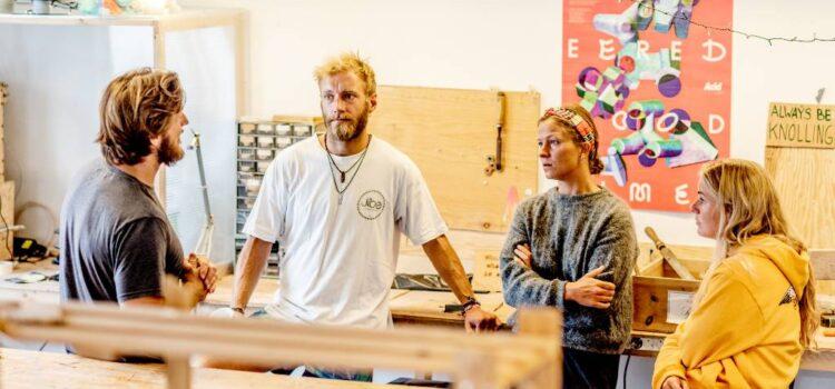 """Iværksætterhus i """"Udkantsdanmark"""" går mod strømmen"""
