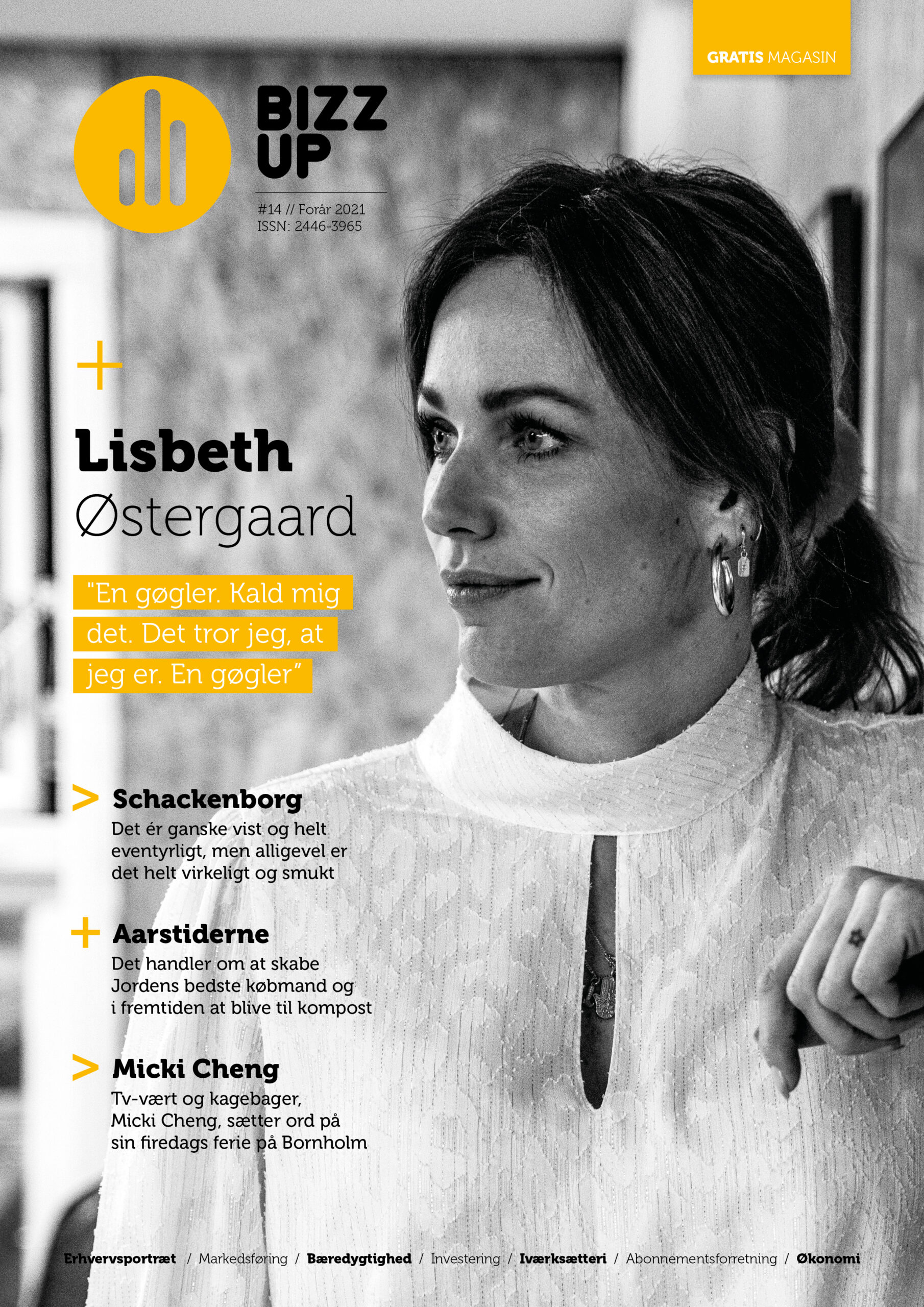 Bizz Up Forår 2021, Lisbeth Østergaard, Bizzup.dk, Bizz Up
